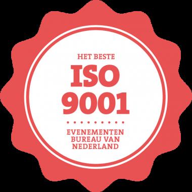 He -beste ISO 9001 evenementenbureau van Nederland